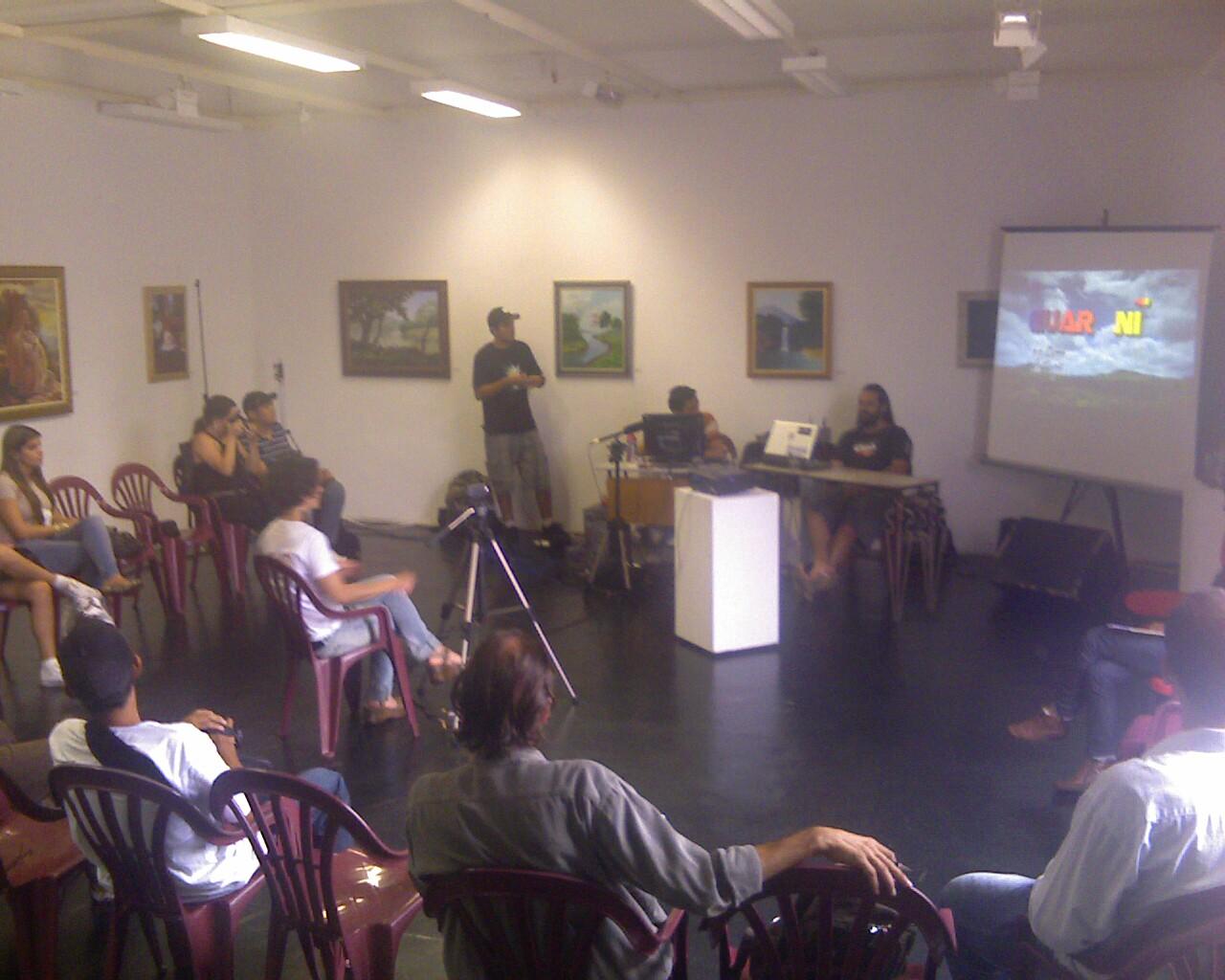 Debate sobre Políticas Públicas para #culturadigital na @semana_digiarte #2digiarte
