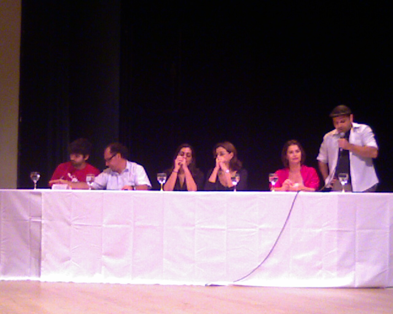 Gilson, dos @pontossc na mesa do encontro da cidadania cultural em #floripa