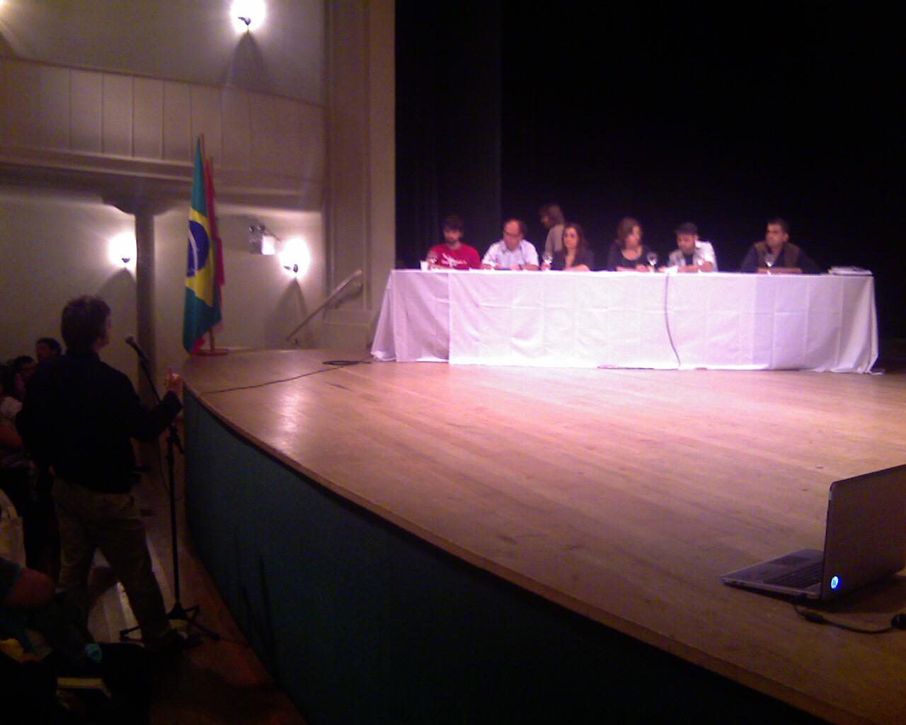 Microfone aberto #debate #culturaviva