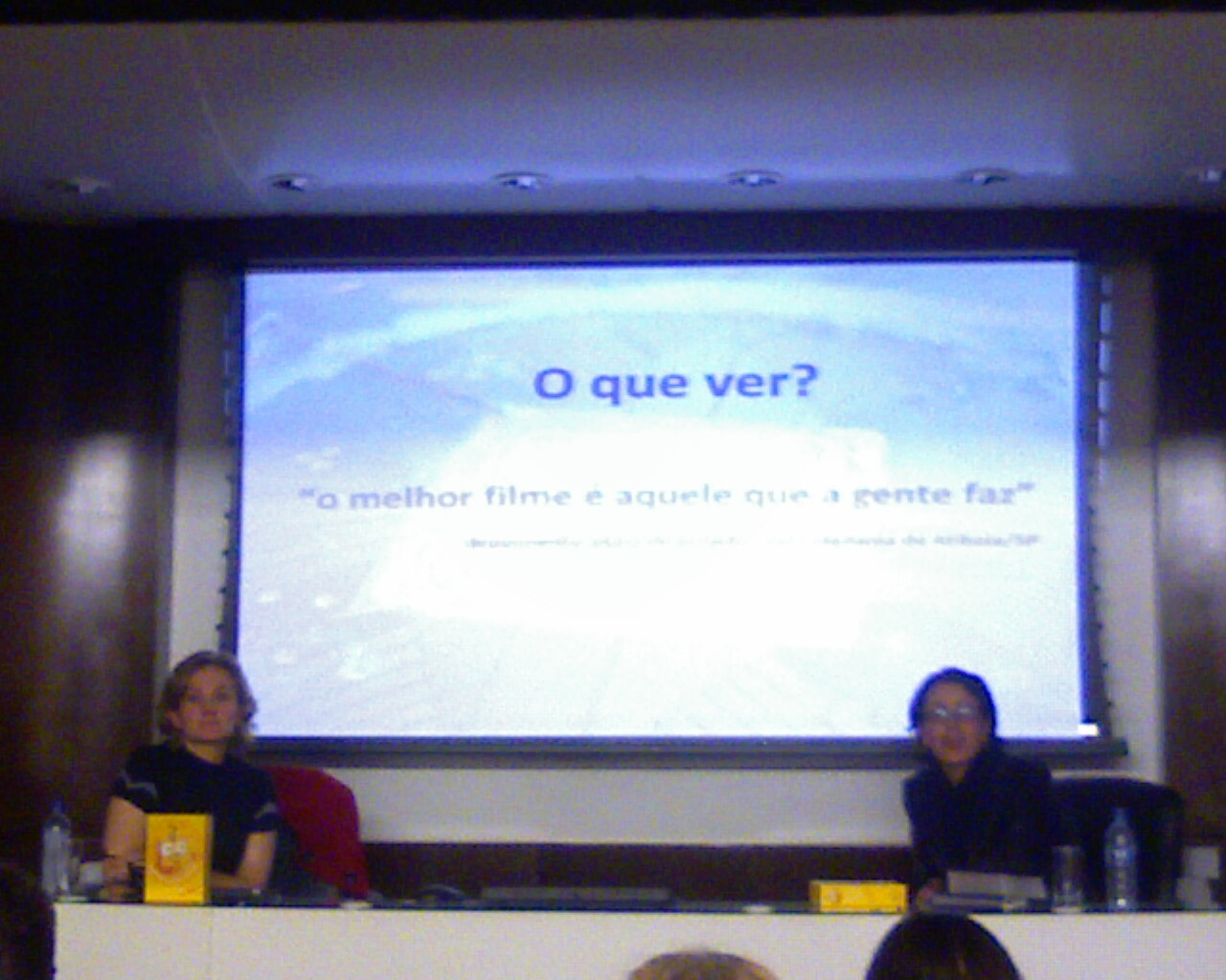 #BatePapo com Gisele Cesconetto, (#Cineclube de Laguna) e Luiza Lins (@cineinfantil)