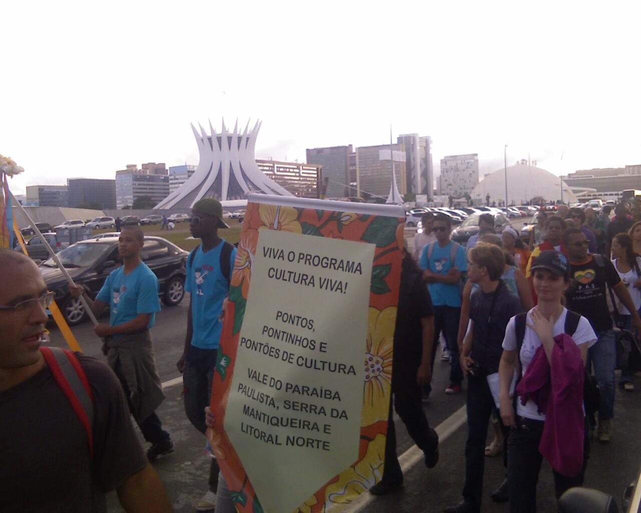 #pontosdecultura nas ruas em #brasilia