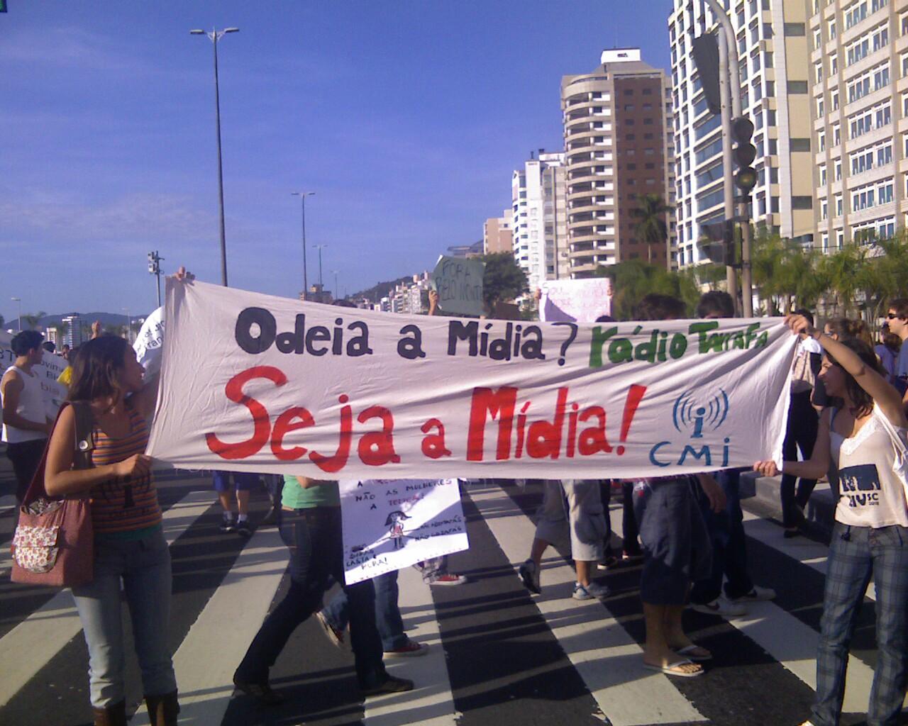 CMI na #MarchadaLiberdade em #Floripa