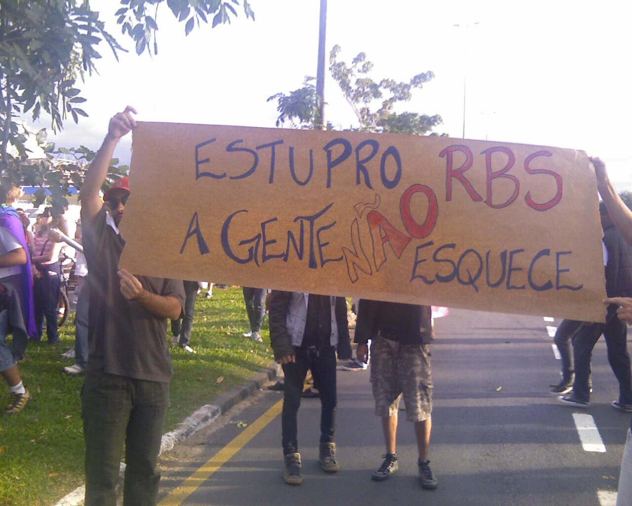 #MarchadaLiberdade em #Floripa #memória