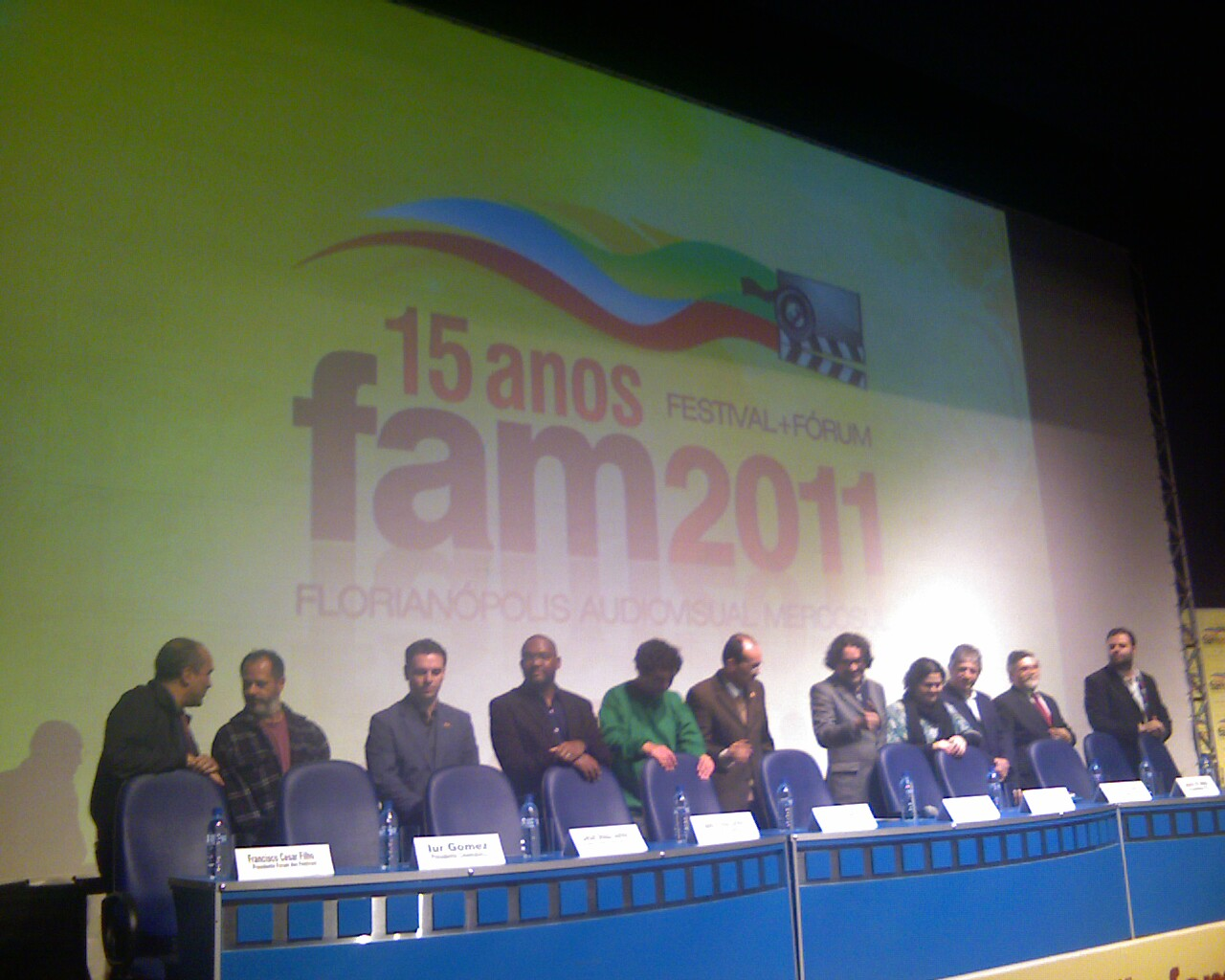 Mesa de abertura do @FAMcinema
