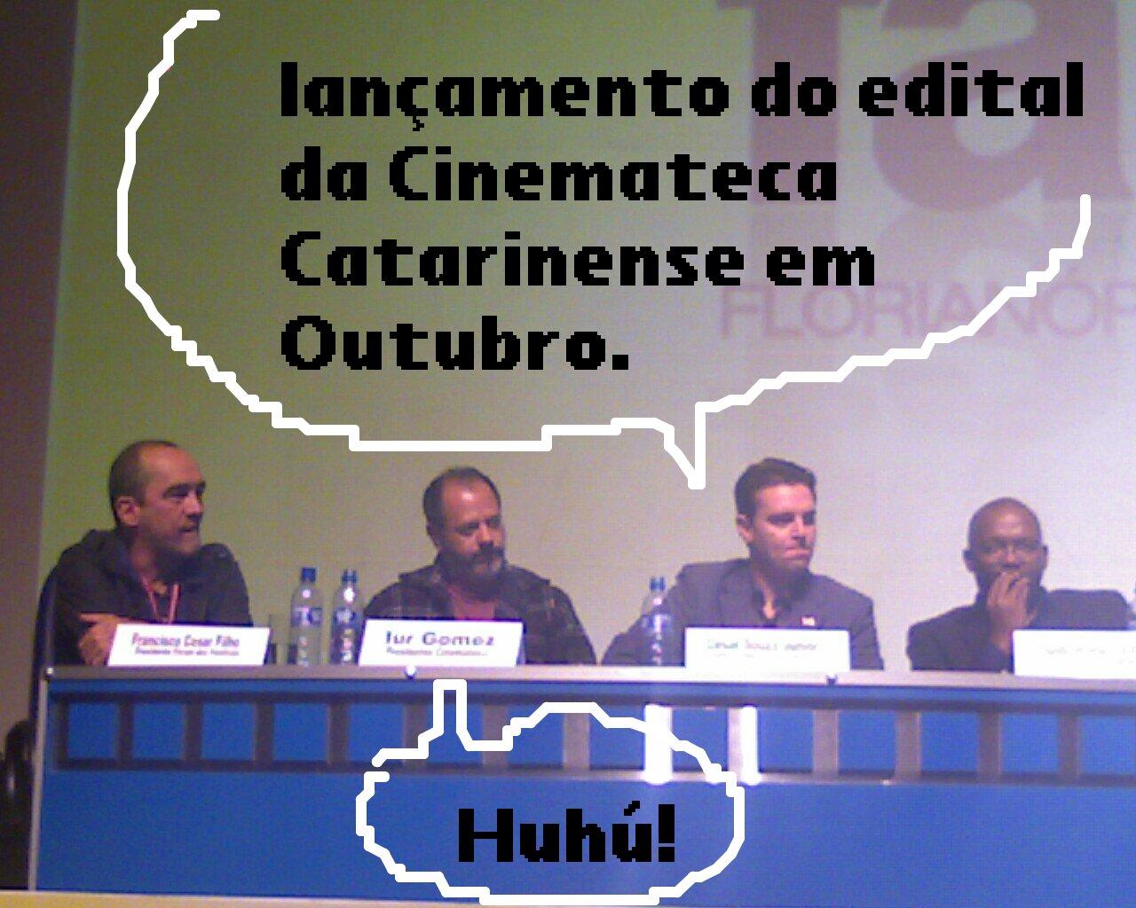 Edital da Cinemateca Catarinense será lançado em Outubro!