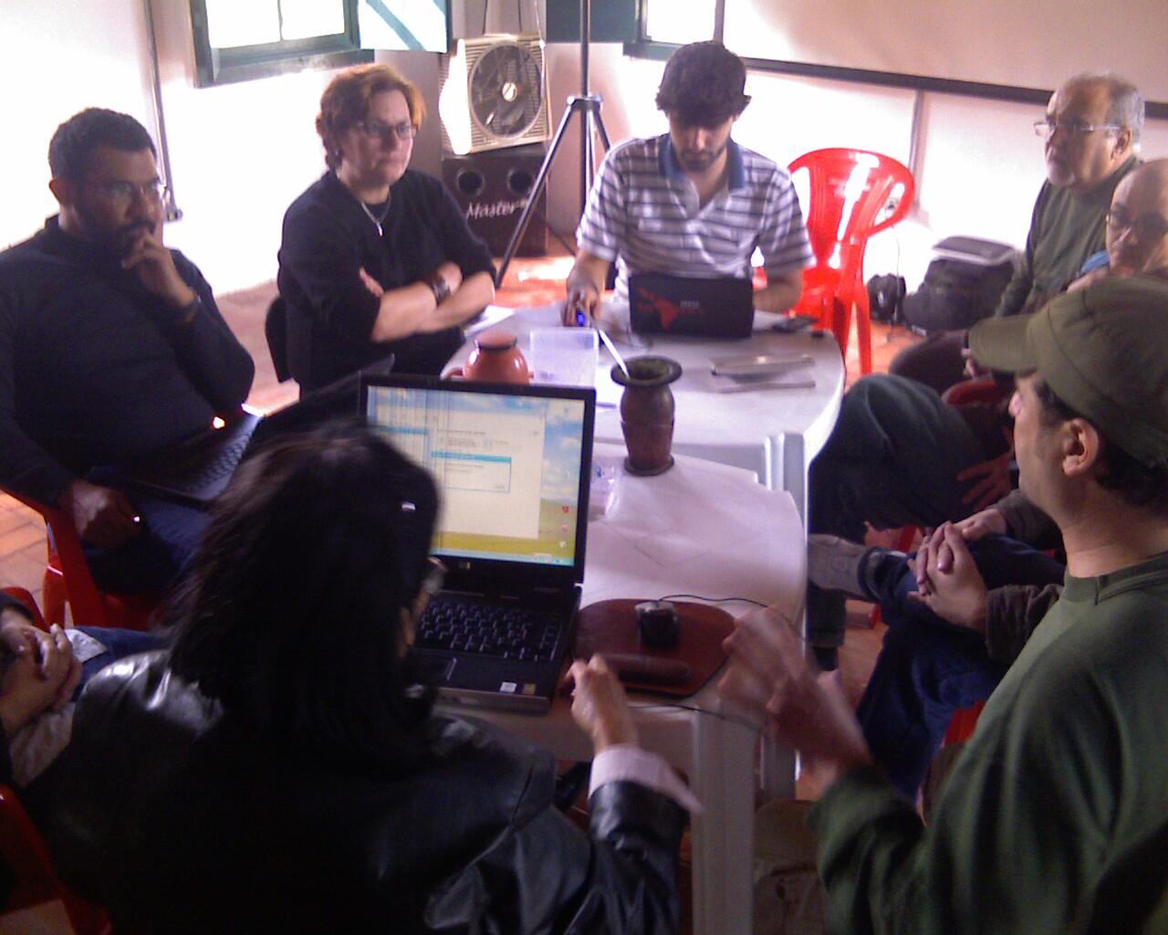 Encontro dos #PontosdeCultura sobre a @TeiaSul em #Floripa #CulturaViva