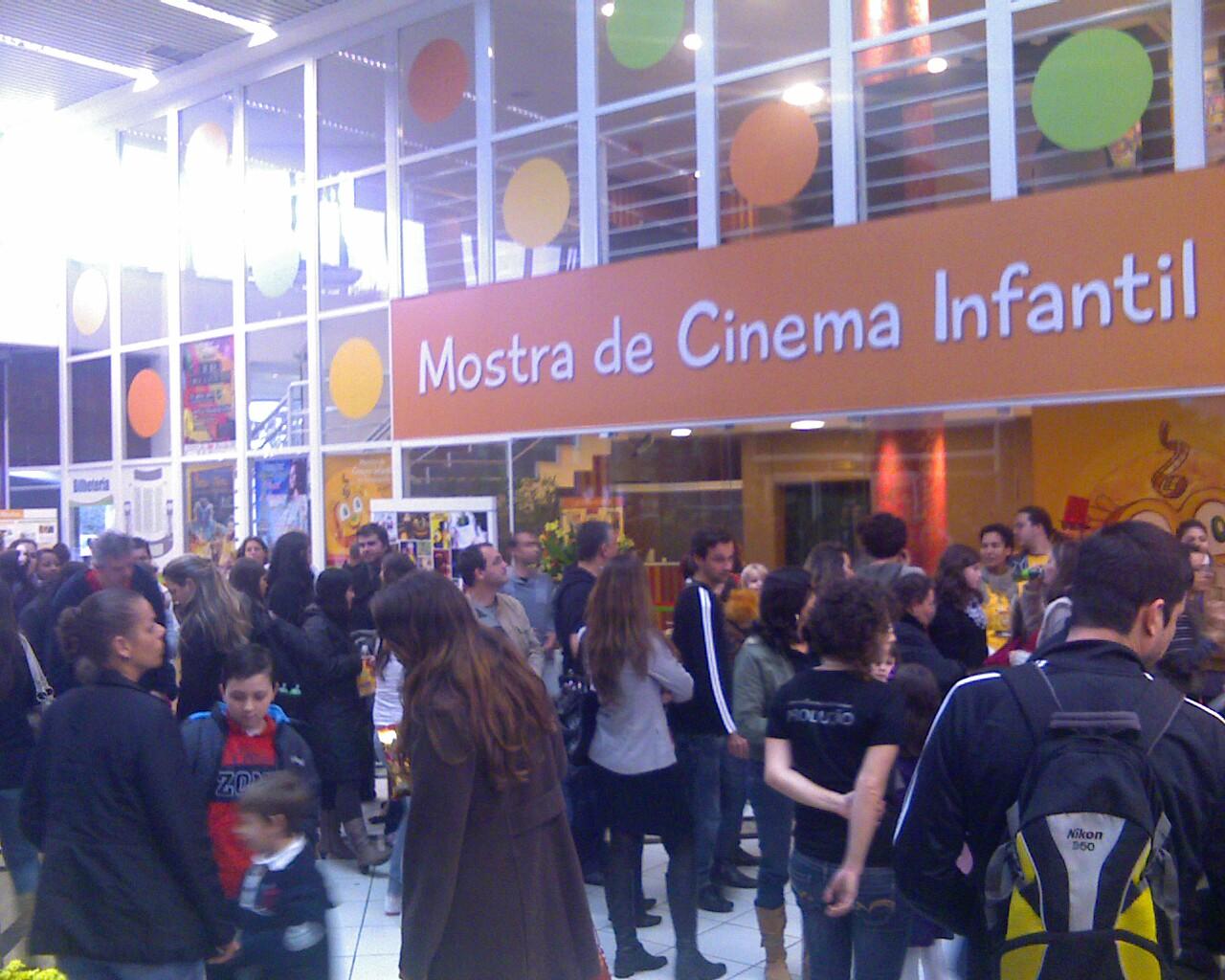 Mostra @cineinfantil lotada