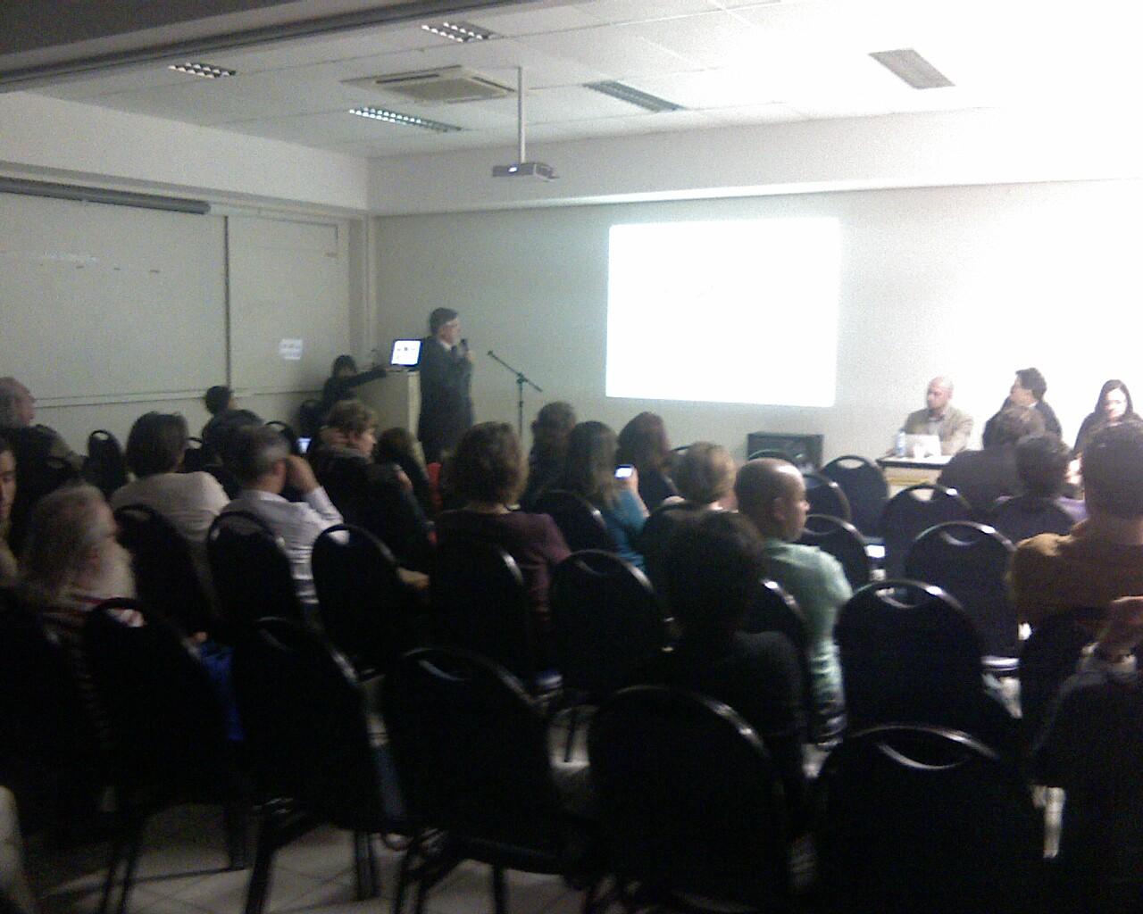 Rolando agora na @ufsc: Seminário para discutir poltica cultural