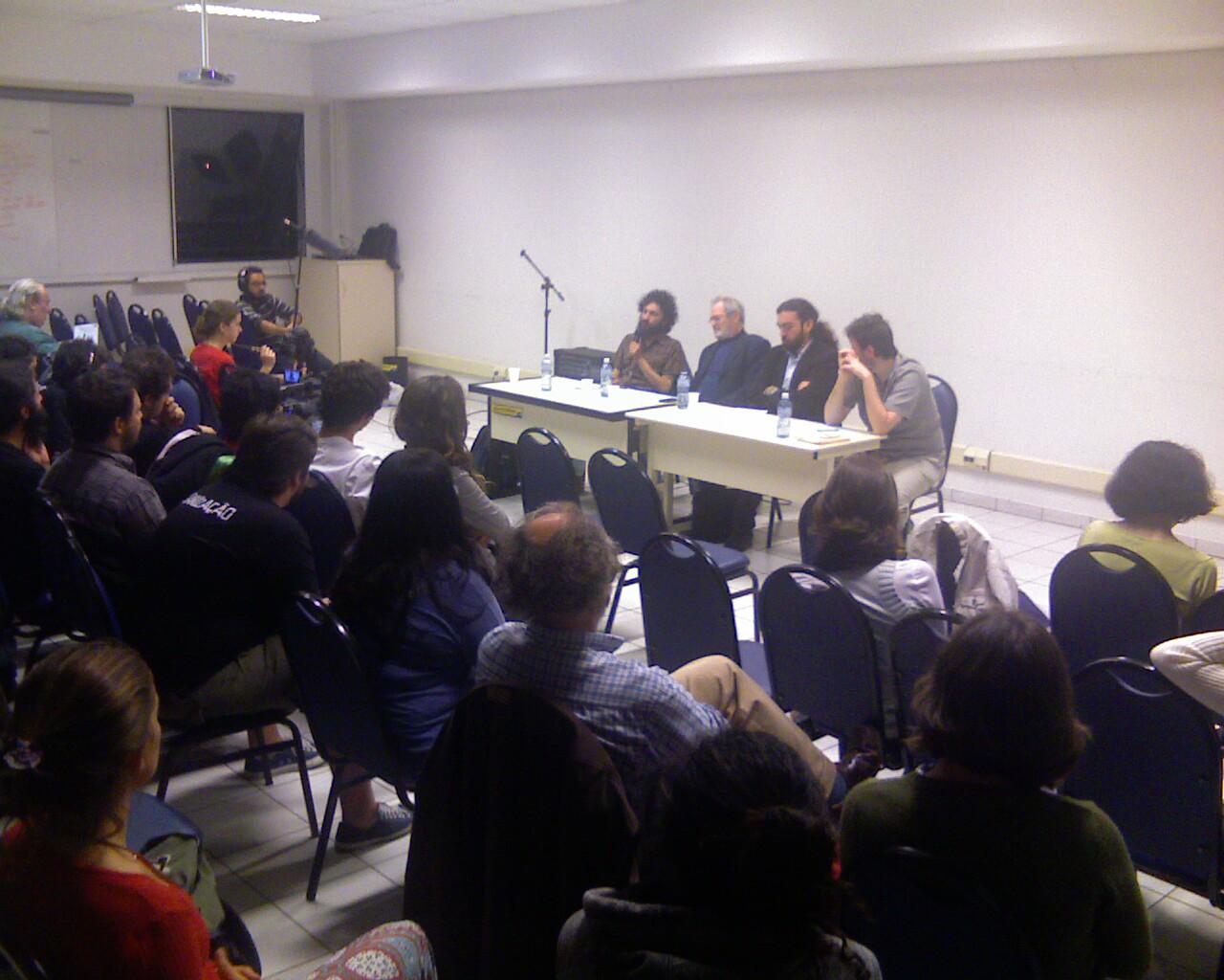 #Ufsctock #AOVIVO com @PradoClaudio @alfredomanevy e @atilioalencar