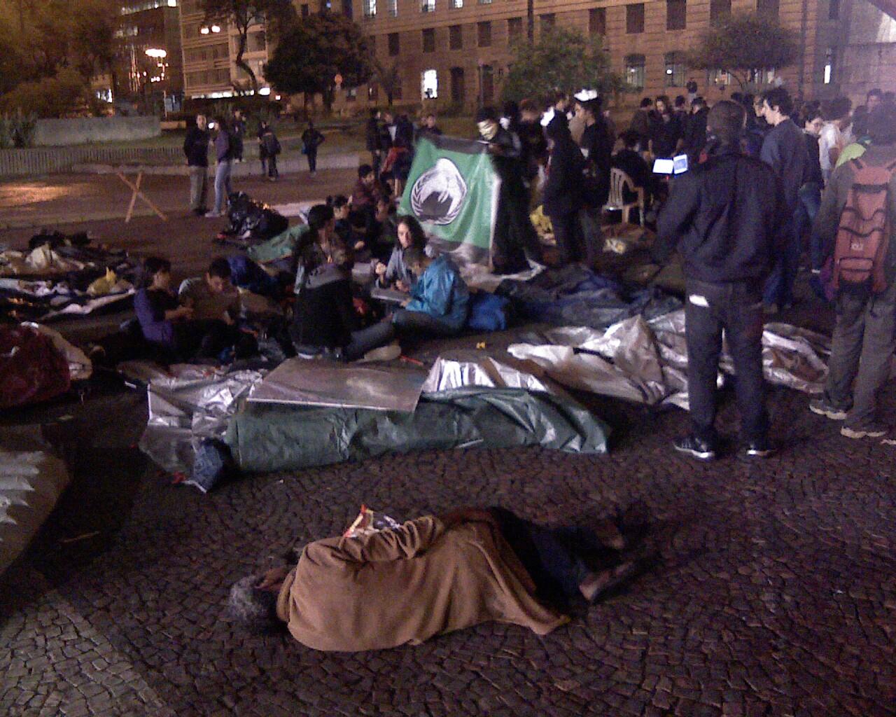 muitos anonimos #AcampaSampa #15O