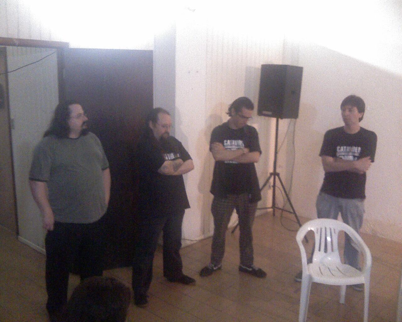 Bate-papo @catavideo com Petter Baiestorf, Gurcius Gewdner e Saulo Popov!