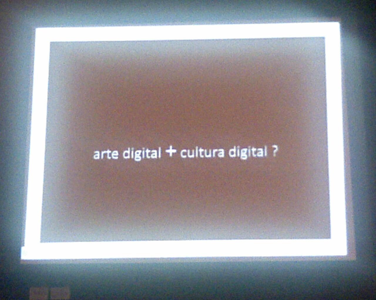#CulturaDigital e Arte em debate no @abciber2011
