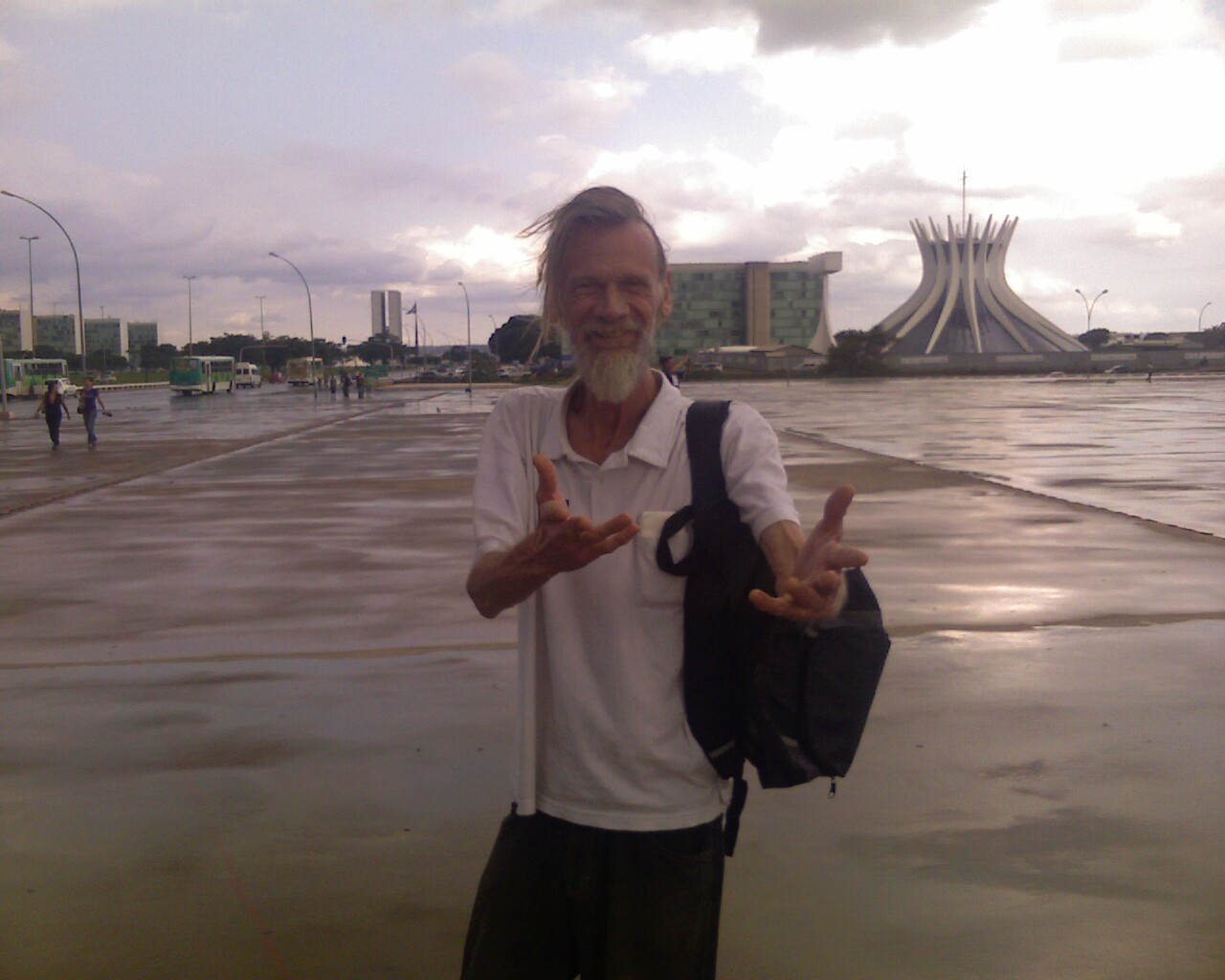 O Erick em Brasília!