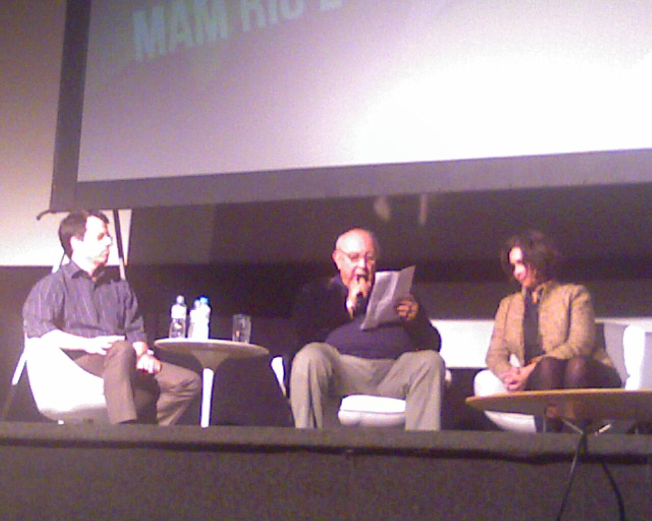 Sergio Mamberti psicografa Ana de Hollanda no Festival #CulturaDigitalBR #Tenso