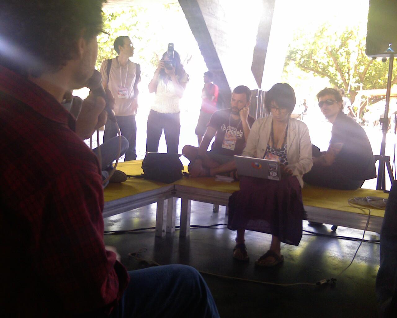 Debate sobre o SNIC no Festival #CulturaDigitalBR #opendata #egov