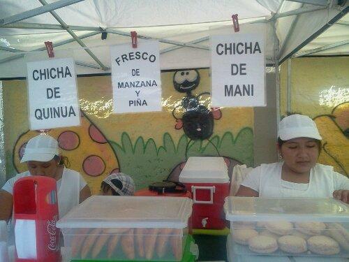 Feirinha Boliviana da Kantuta #diversidade