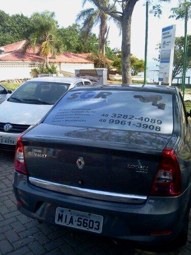 Falta de educação com carro da empresa: Burrice dupla